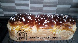 Recette Brioche au mascarpone (thermomix)