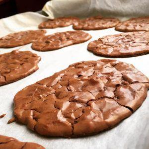 Recette Cookies-brownie au chocolat
