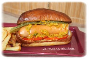 Recette Hot-dogs Chicago