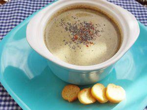 Recette Champi soupe - recette de soupe aux champignons