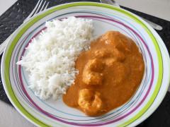 Recette Butter chiken ou poulet Makhani