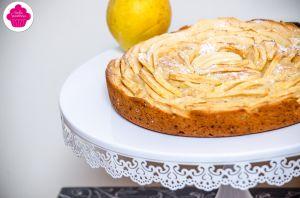 Recette Gâteau aux pommes comme une tarte