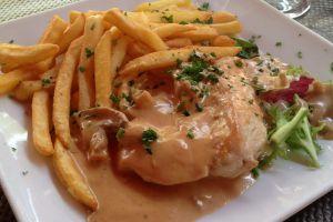 Recette Escalopes de poulet sauce normande