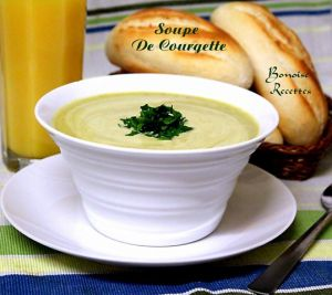 Recette Soupe à la courgette