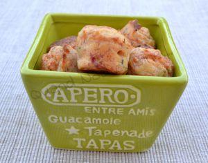 Recette Mini-muffins au jambon et petits-suisses persillé