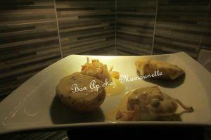 Recette Coquilles st Jacques pdt à la raclette au poivre