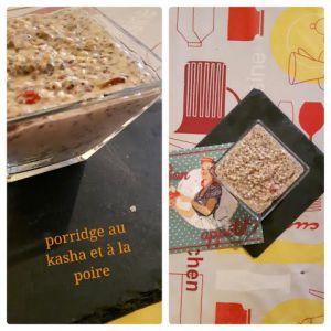 Recette Porridge de Kasha à la poire