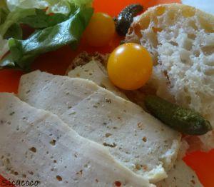 Recette Jambon de poulet