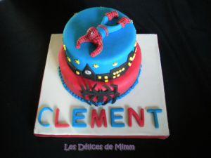 Recette Gâteau Spider-man (pâte à sucre)