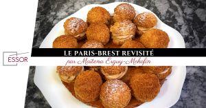 Recette Paris-Brest : la recette revisitée par Maïtena Erguy-Mokofin