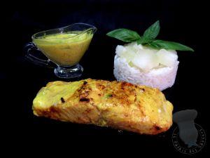Recette Saumon sauce Satay