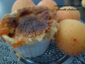 Recette Crumble d'abricots