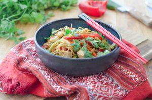 Recette Pad thaï au tofu