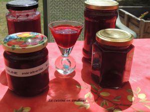 Recette Confiture de prunes et mirabelles au Cookéo