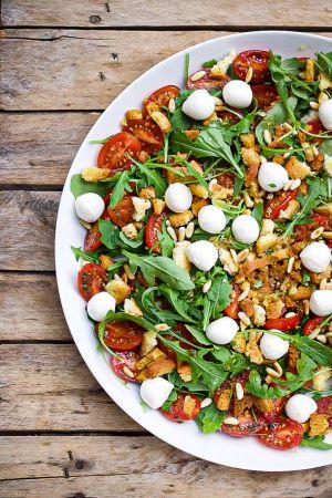 Recette Ma salade tomate mozzarella