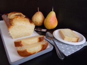Recette Cake poire-fève tonka