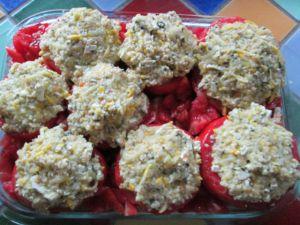 Recette Tomates farcies vegetariennes