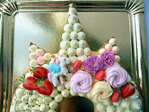 "Recette Gateau Licorne façon "" number/letter cake """
