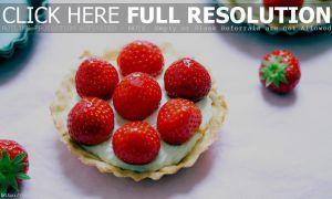 Recette Tartelette aux fraises et fève tonka