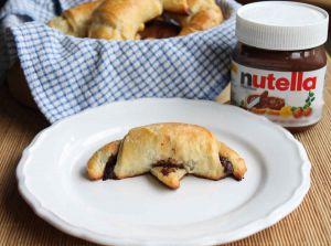 Recette Croissants au Nutella au Thermomix