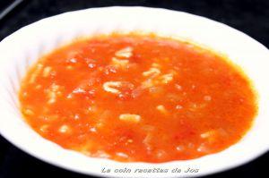Recette Soupe alphabet