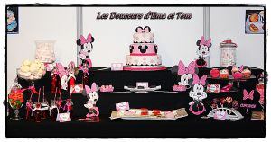 "Recette Sweet table ""minnie"""