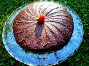 Recette Gâteau aux haricots noirs, betteraves, et tofu (et oui; c'est divinement bon!), glaçage au chocolat