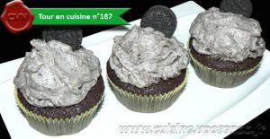 Recette Cupcakes tout Oréo