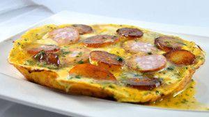 Recette Omelette Franc Comtoise