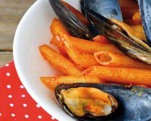 Recette Ramadan Pennes aux fruits de mer