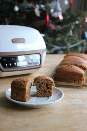 Recette Pain d'épices au safran {Cake factory}