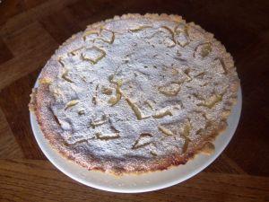 Recette Tarte aux poires au fromage blanc