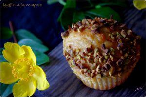 Recette Muffins à la compote d'abricot