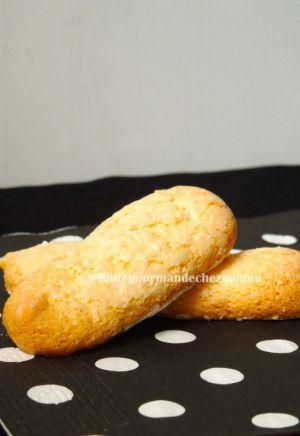 Recette Doigts de dame ou biscuits à la cuillère faits maison