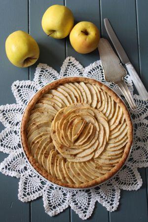 Recette Tarte aux Pommes (Frangipane Amande-Semoule)