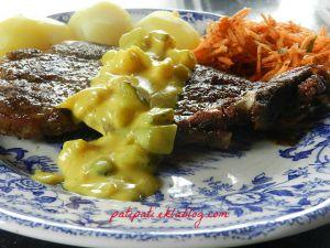 Recette Côte sauce Blackwell
