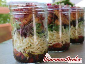Recette Salade Jar ou salade en bocal