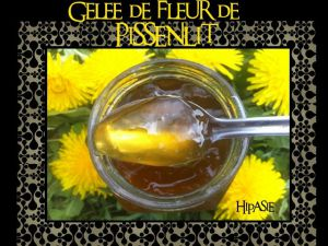 Recette Gelée de Fleur de Pissenlit
