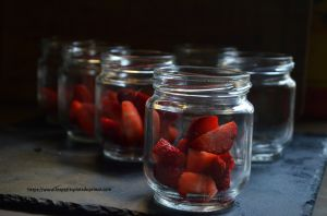 Recette Yaourts aux fraises faits maison