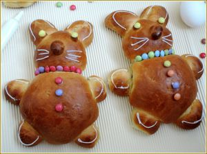 Recette Lapins de Pâques