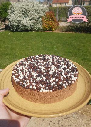 Recette Trianon ou gâteau royal au chocolat facile