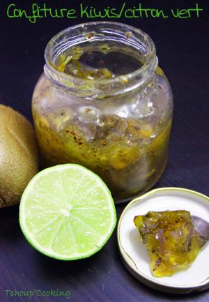 Recette Confiture kiwis citron vert
