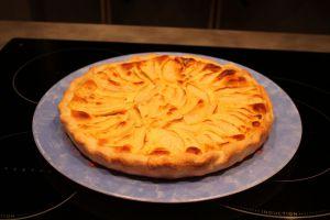 Recette Tarte aux pommes et mascarpone