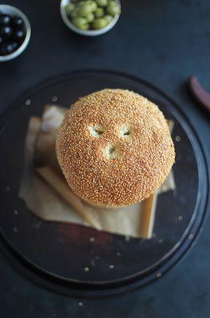 Recette Petits pains au sésame