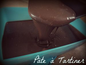 Recette Pâte à Tartiner