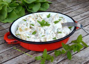 Recette Salade de pommes de terre à la menthe