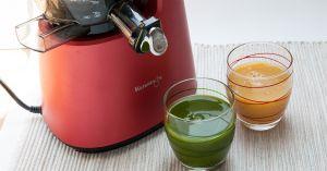 Recette 3 recettes de jus de légumes à l'extracteur de jus (détox, digestif, peau et yeux)
