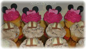 Recette Comment faire des Cupcakes Minnie