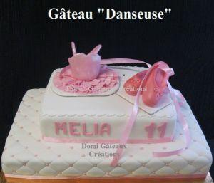 """Recette Gâteau """"Danseuse"""" en Pâte à Sucre"""