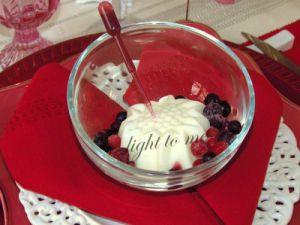 Recette Glace au yaourt